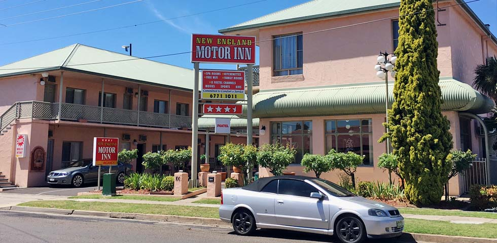 Welcome to New England Motor Inn located in the heart of Armidale